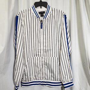 Men's Striped Nylon Windbreaker NWT